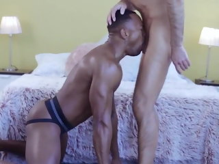 hung Russian hung raw fucker hitting that horny black sizzle butt russian