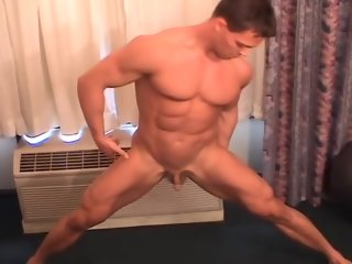 bodybuilder Big Ripped Bodybuilder with a Aphoristic Dick ripped